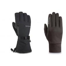 Dakine Leather Titan Gore-Tex Glove Ski/Snowboard Gloves Black