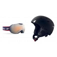 Ski helmet Julbo Norby + goggles Julbo Ison