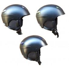 Ski/snowboard helmet Uvex Black Matte