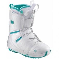 Snowboard boots Salomon Pearl White
