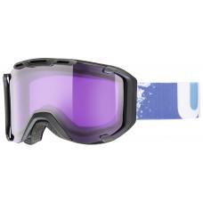 Ski/snowboard goggles UVEX Snowstrike Stimu Black