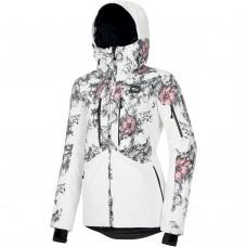 Ski / Snowboard jacket Picture Exa Peonies White Womens 20k