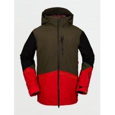 Snowboard jacket Volcom BL Stretch Gore-Tex Red