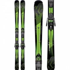 Kids ski K2 Charger Jr + bind. Fastrak2 7.0