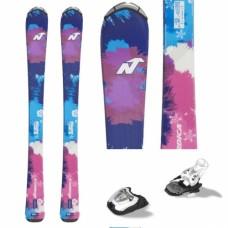 Kids ski Nordica Little Belle Jr + bind. Marker 4.5