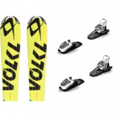 Kids ski Volkl Racetiger SL Jr + bind. Marker 7