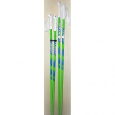 Ski poles  COBER Green Blue