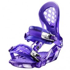Snowboard binding  RIDE KS Purple