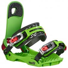 Snowboard bindings Head Flatbed 4D Green
