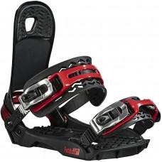 Snowboard bindings Head Flatbed 4D Red