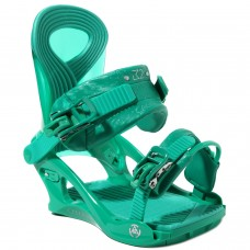 Snowboard bindings K2 CASSETTE GREEN