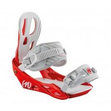 Snowboard binding  Nitro Rythm RED