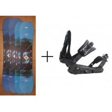 Snowboard  Salomon Wild Card + bind. Salomon