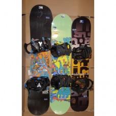 Kid snowboard  Jr + bind.