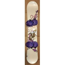 Snowboard  Volkl Thiner + new bind. Ride
