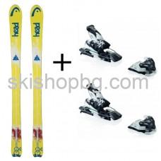 Ski Head Galactic 84 + bind. Elan Attack 13 Freeride