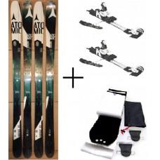 Ski Atomic Vantage 85 Touring + new bind. Scott 13 + skins